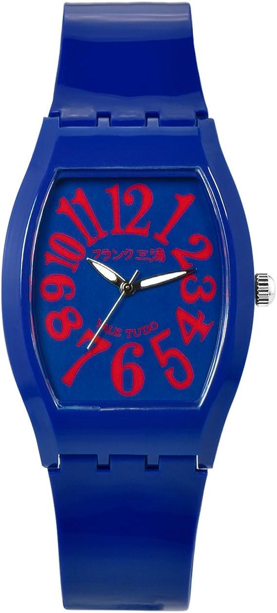 [フランクミウラ] 腕時計 FM10K-NRD ブルー