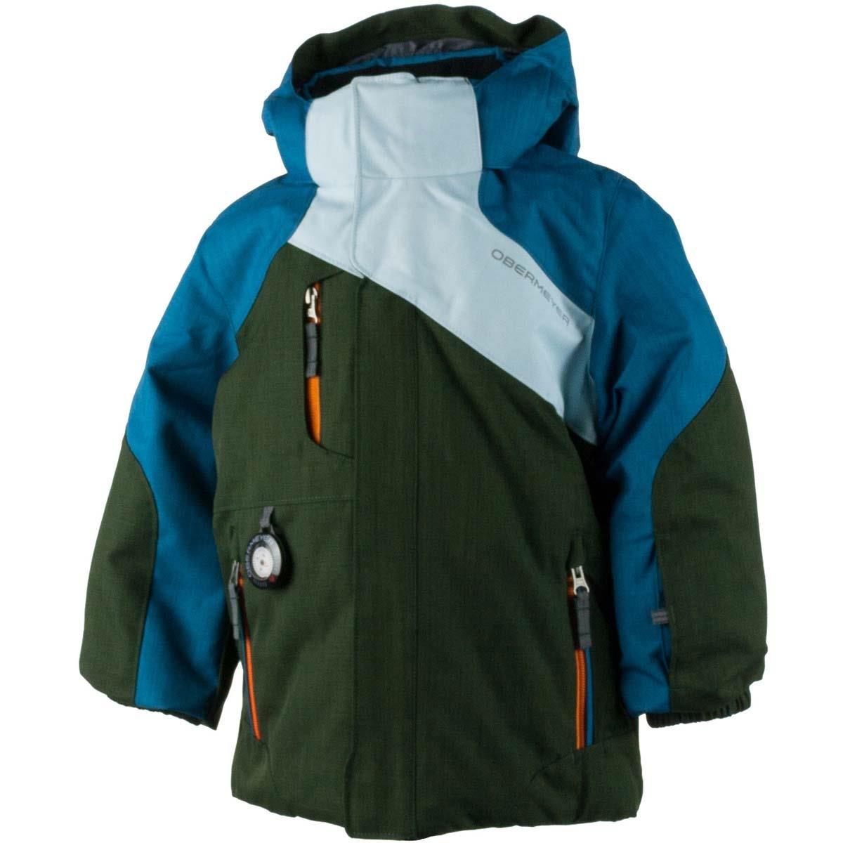 Obermeyer Boys Boys' Havoc Jacket, 4, Blue