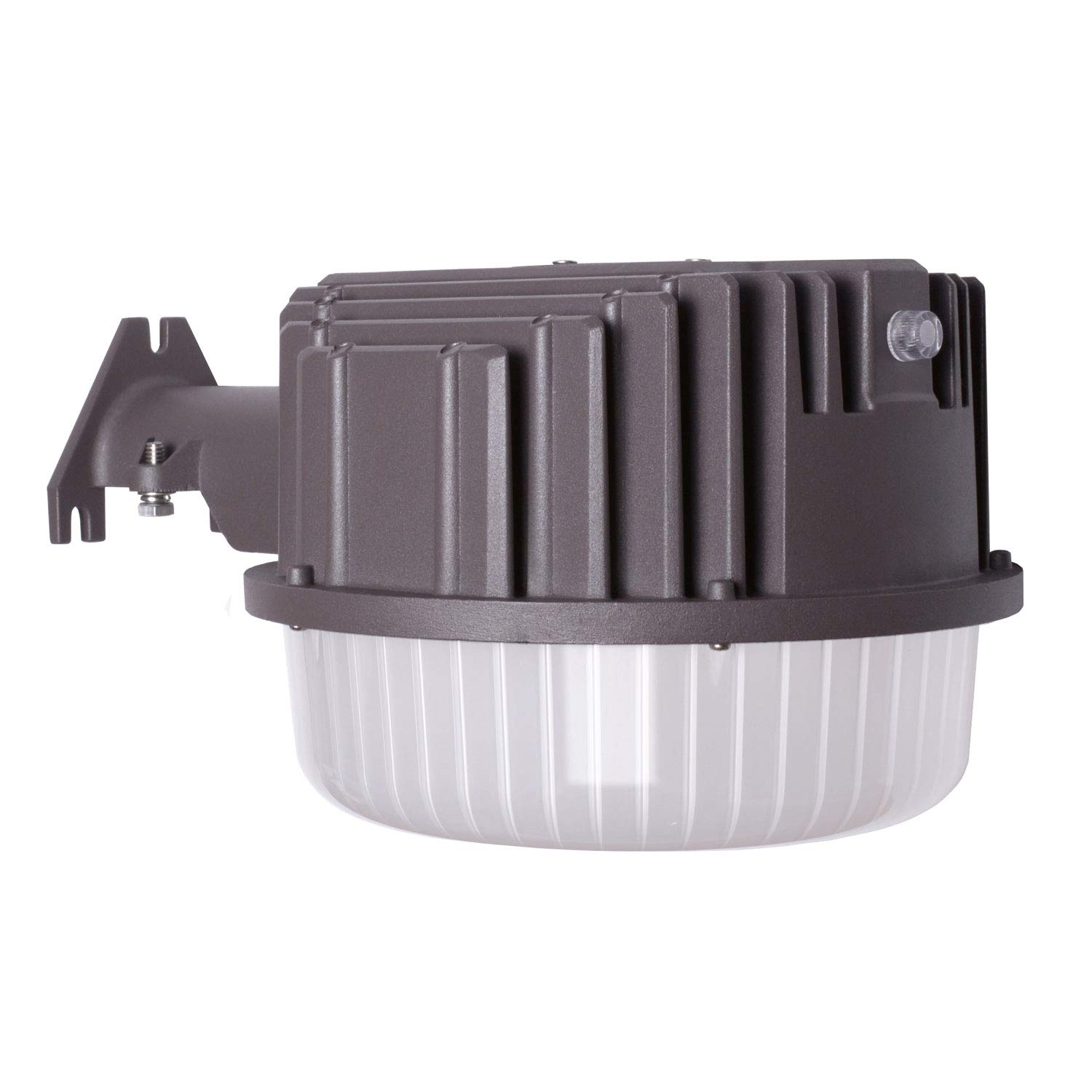 AntLux 80W LED Dusk to Dawn Light Outdoor Barn Lights, 8600lm, 5000K Daylight, Photocell Included, Perfect Security Area Street Yard Light, 700W Incandescent or 200W MH/HID Equivalent, Bronze Finish