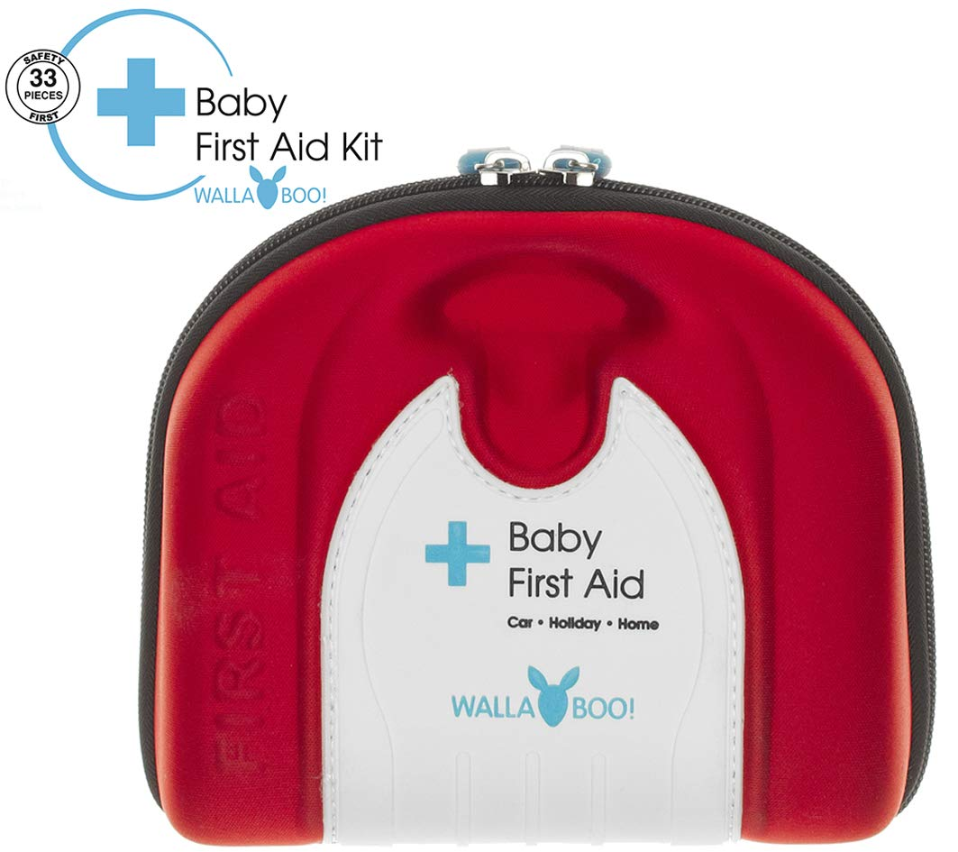 Wallaboo Basic First Aid Kit for Babies, Durable and Sturdy, Camper by Wallaboo
