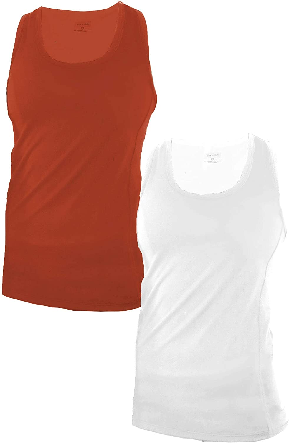 Abby Womens 2-Pack Energy Tank-Top Alex