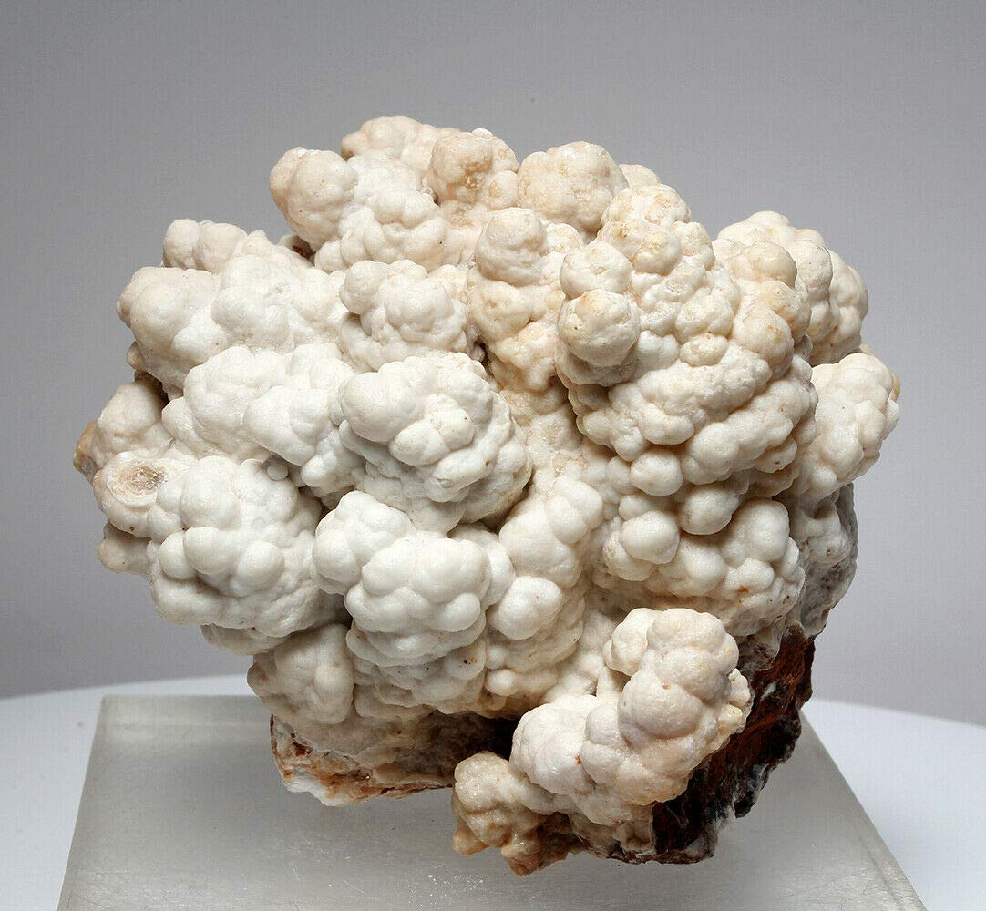 Beautiful Bubbly Aragonite Calcite from Mibladen, Morocco (5831)