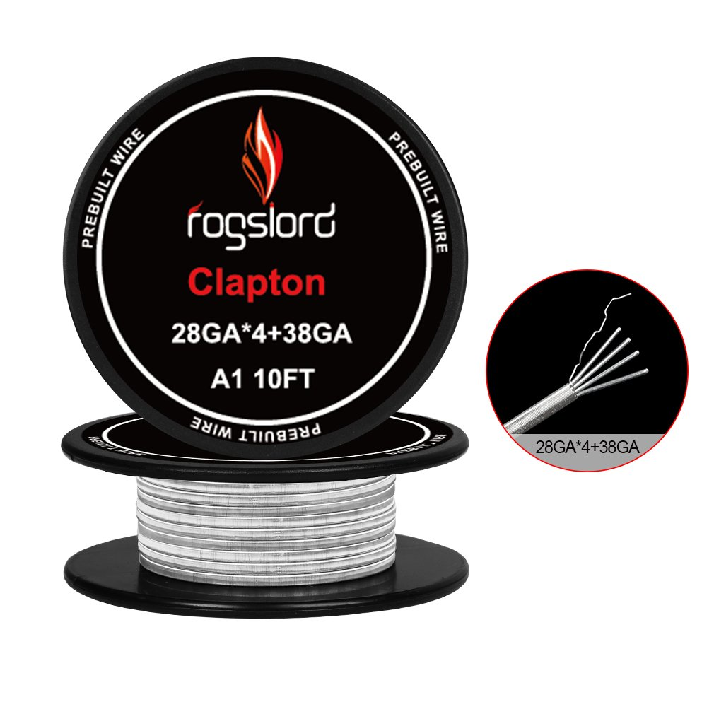 15 ft. AWG 28GAx4+38GA Prebuilt Resistance Wire Kanthal A1 Coils for Household Wiring Use