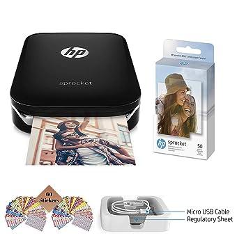 TUDAK HP Sprocket Impresora de Fotos, impresión de Fotos de Medios ...