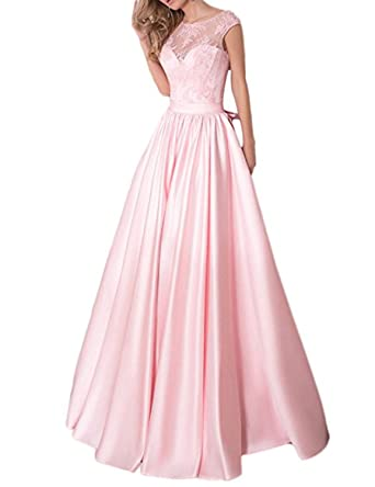 Vimans Womens Long Elegant Prom Dresses 2018 Lace Formal Party Gowns Dress5204 at Amazon Womens Clothing store: