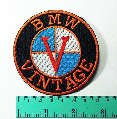 3 Patch BMW Vintage Motorcycles Motorrad Biker Jacket Shirt T-shirt Patch Sew Iron on Logo Embroidered Badge Sign Emblem - Tracking Economy Mail