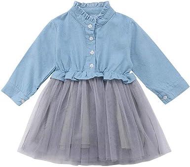 Carolilly Robe Pour Petite Fille En Tulle A Manches Longues Pour Ceremonie Mariage Amazon Fr Vetements Et Accessoires