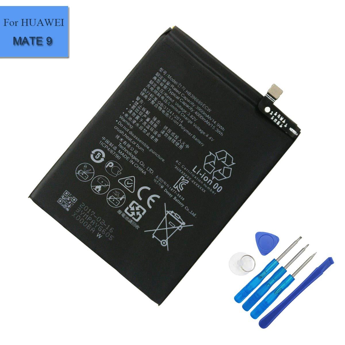 Bateria Celular Li Polymer HB396689ECW Compatible con Huawei Ascend Mate 9 Mate 9 MHA L09 MHA L29 MHA TL00