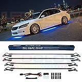LEDGlow 4pc Blue Slimline LED Image