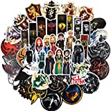 shuyilong Game of Thrones Stickers(100pcs) Vinyl Stickers for Laptop Apple Mac Air Pro Retina Winter is Coming Fire and Blood