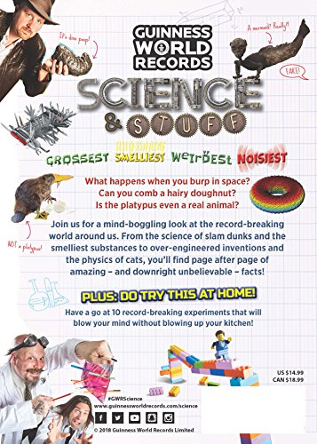 Guinness World Records: Science & Stuff by Guinness World Records (Image #1)