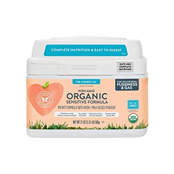 organic non gmo sensitive infant formula for occasional fussiness gas - Formula For Gassy Babies