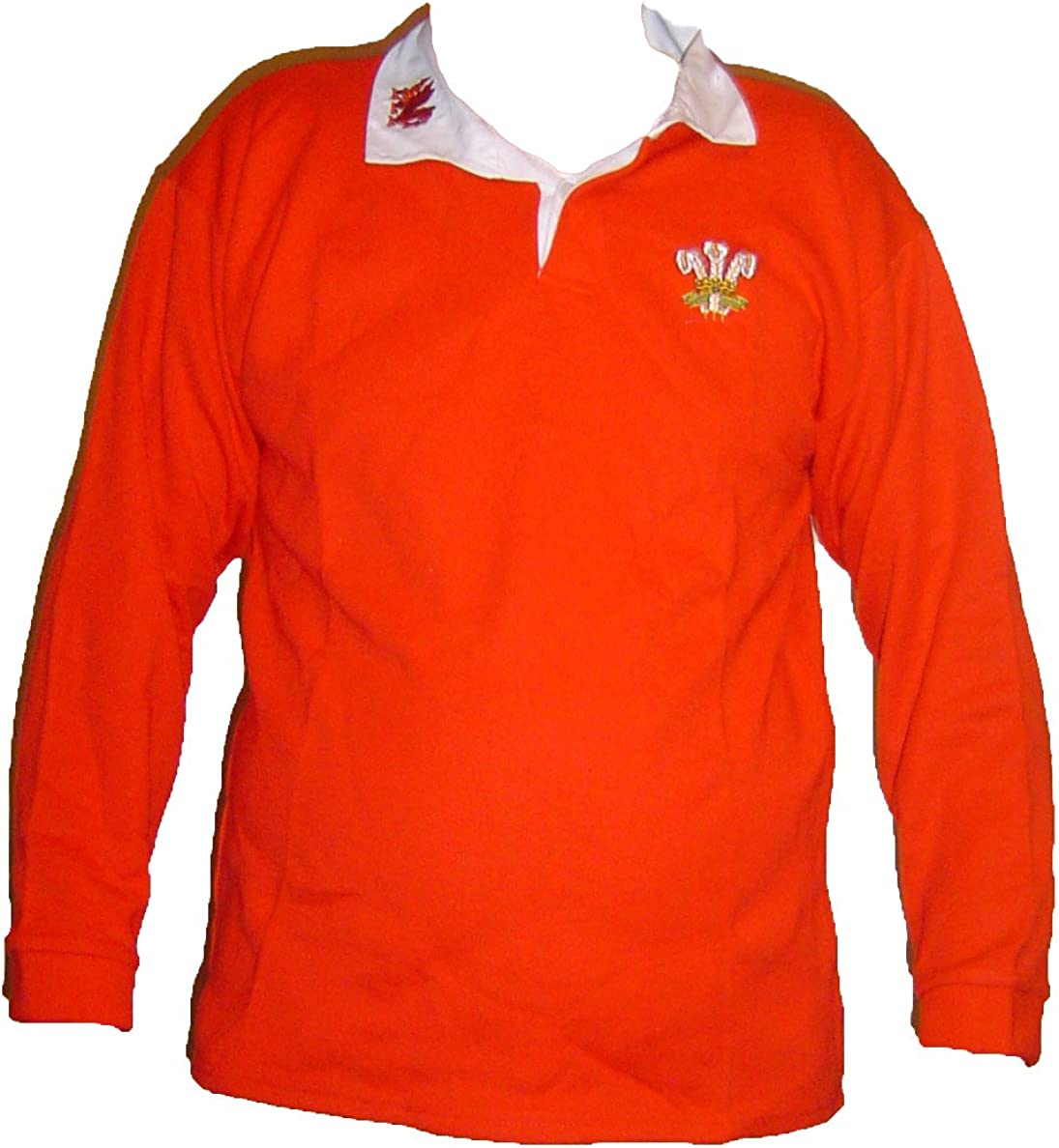 Rugby Gales - Camisas de Gimnasia Retro galesa, Unisex, para ...