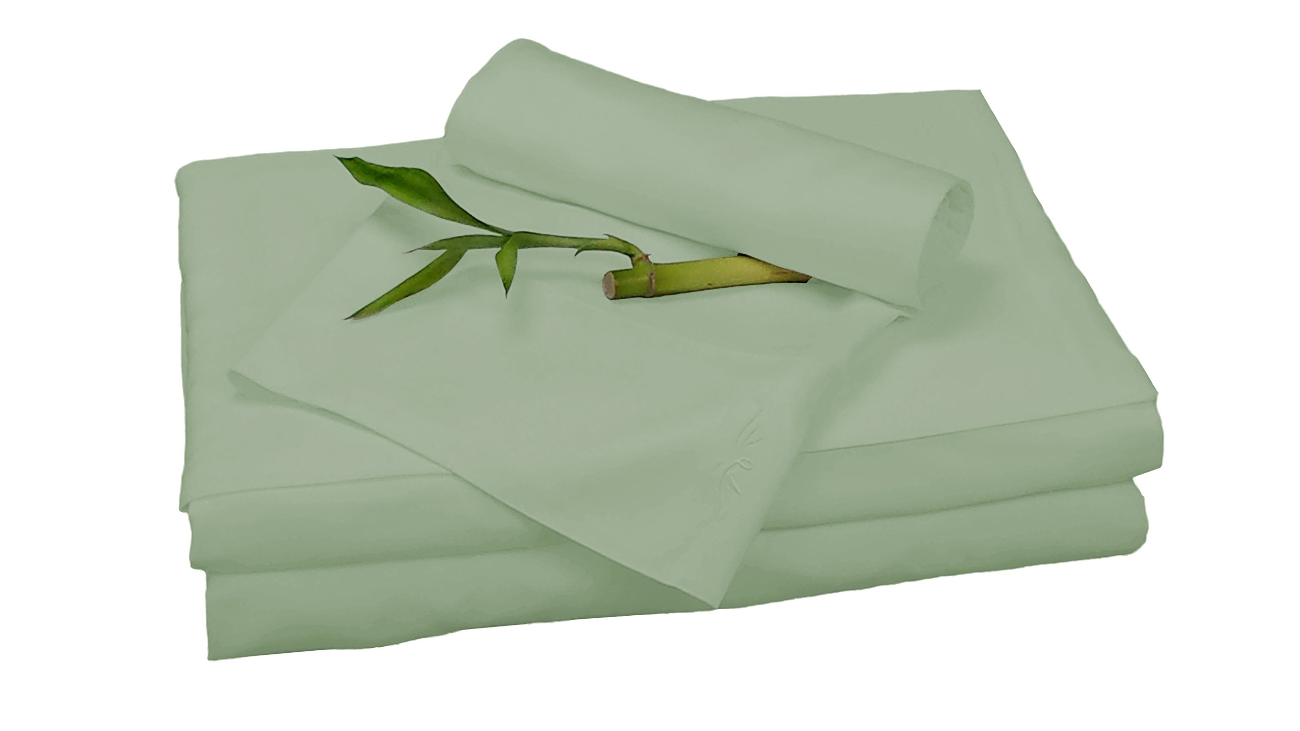 BedVoyage Bamboo Rayon Sheet Sets - Queen - Sage by BedVoyage