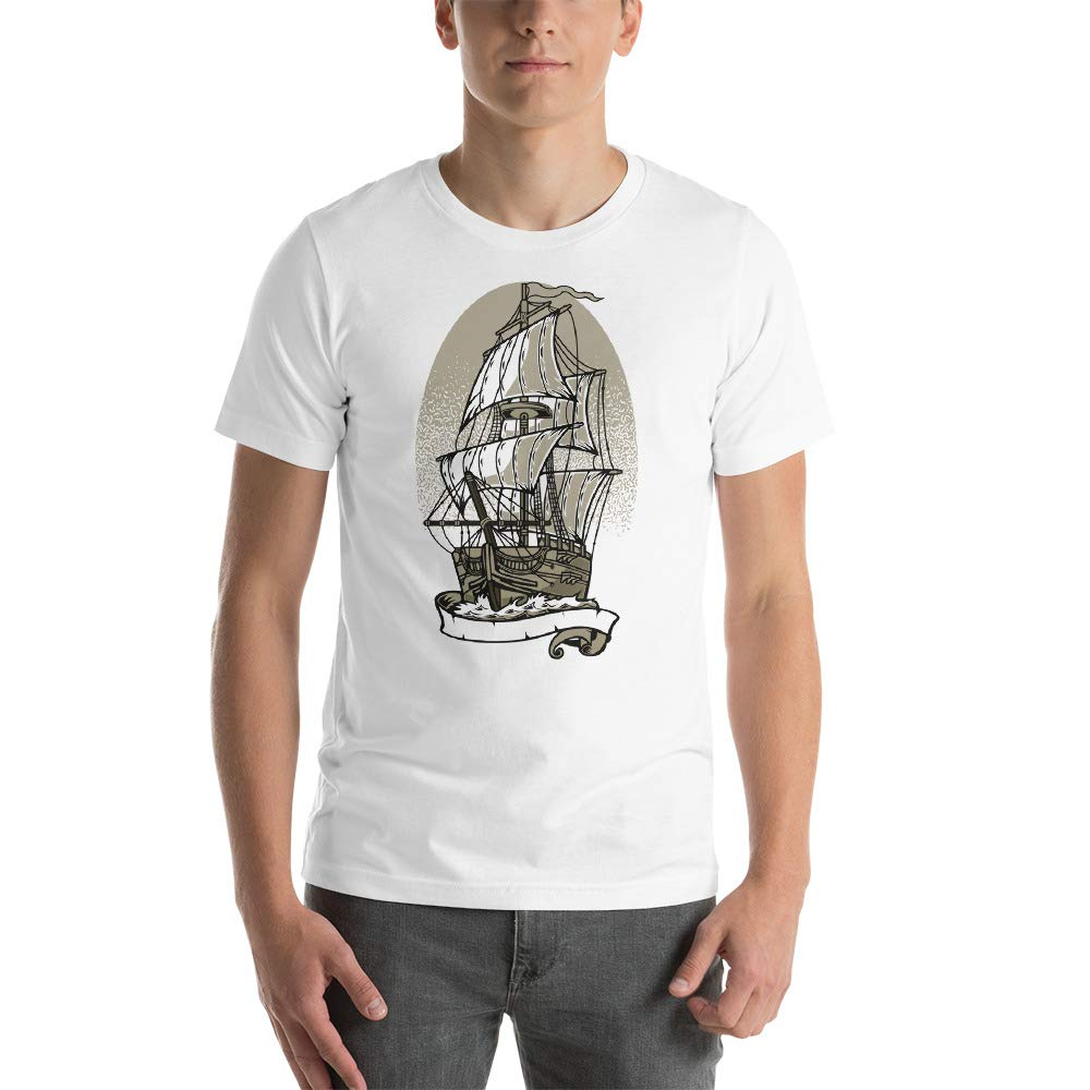 Abundant Life Co Old Ship Short-Sleeve Unisex Gift T-Shirt