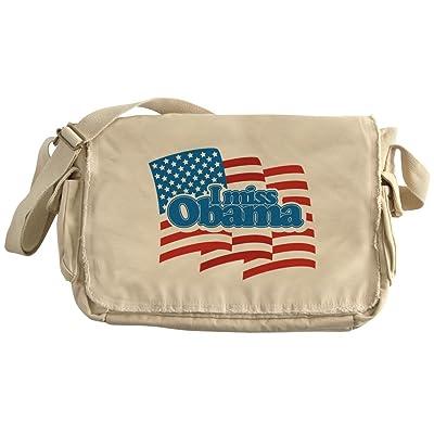 34578f2824 CafePress - I Miss Obama Flag - Unique Messenger Bag