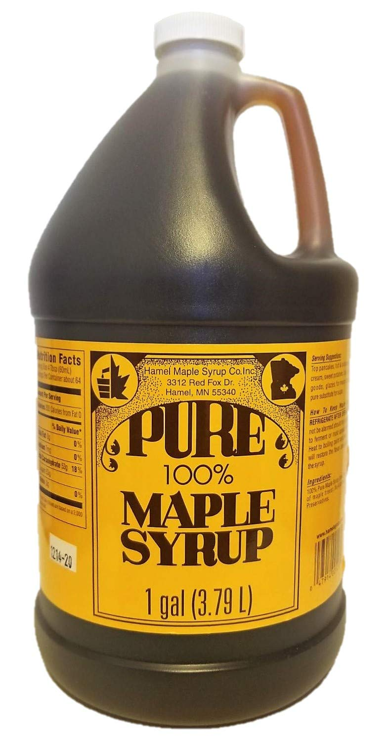 Hamel Pure Maple Syrup Gallon Grade A