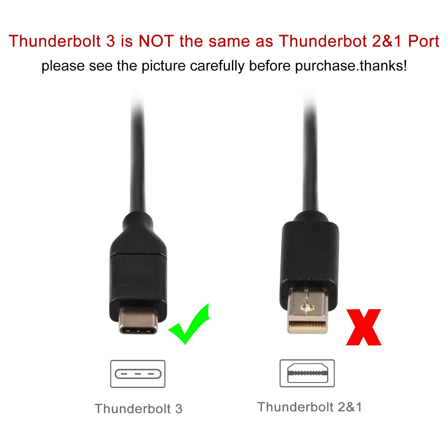 USB-C /& Thunderbolt 3 Compatible to HDTV HDMI Cable Supporting 4K J/&D USB Type C 9 Feet USB C to HDMI 4K 30Hz