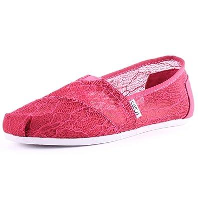 TOMS Classic Damen Schuhe Pink RwlhqN