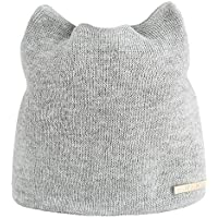 Maonet Clearance Women Autumn Winter Russian Beanie Knit Warm Caps Cat Ear Hats Earmuffs
