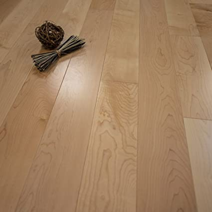 Maple W4mm Wear Layer Prefinished Engineered Wood Flooring 5 X 58