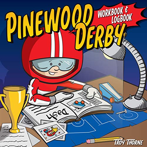 Pinewood Derby Workbook & Logbook (Fox Chapel Publishing) For Scouts to Keep Track of Design, Pattern, & Painting Ideas, Log Test Run Notes, and Add Photos & Memories of Their Races (Y Ideas Jardines Para Patios)