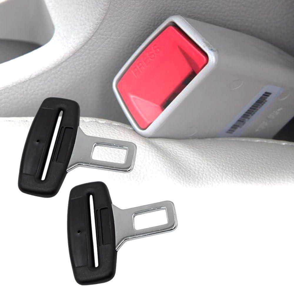 TBoonor 2 St/ück anti gurtwarner Gurte Alarm Stopper Gurtadapter Universal