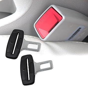 migliore selezione di brillantezza del colore personalizzate Boonor Cintura Stopper Allarme, Annulla Beep Universale, Cintura Di  Sicurezza Annulla Allarme, Nero