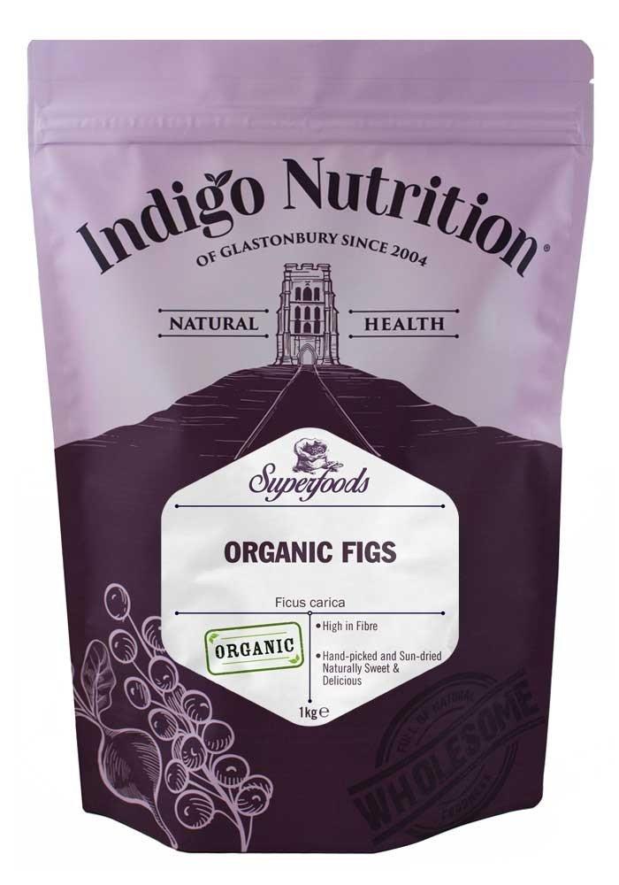 Indigo Herbs Higos Orgánicos 500g