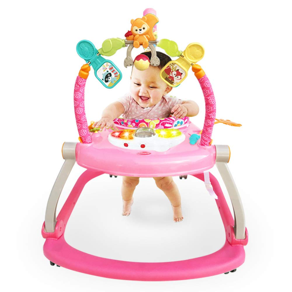 Baby Swings Chair BouncersBaby Walker Jumping Chair Jumping Fitness Game Activity Centres Baby Toys,Green Lizhen Home Textile
