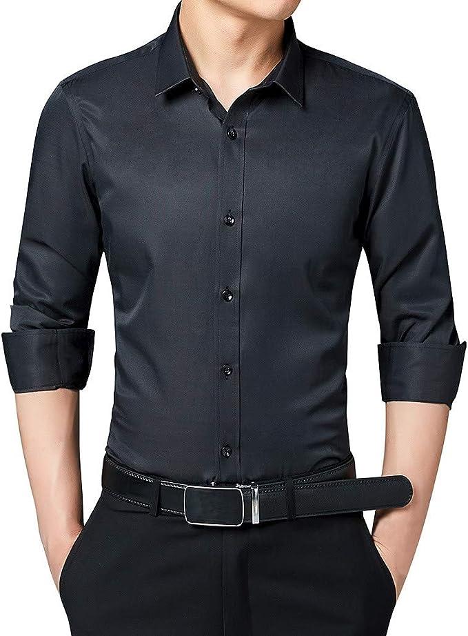Casa Moda Camicia Uomo Slim Line Bianco//Rosso Tg 42 NUOVO