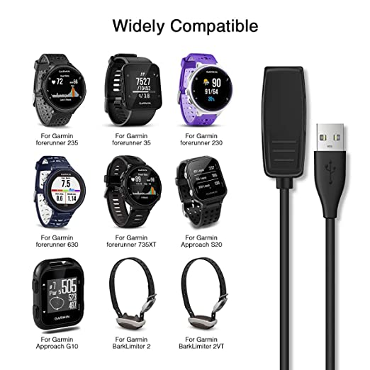 Amazon.com: APPHOME Charger Cable for Garmin Forerunner 35 ...