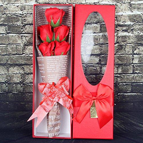 Gaoxu La novia de enviar un regalo de cumpleaños, 5 flores ...
