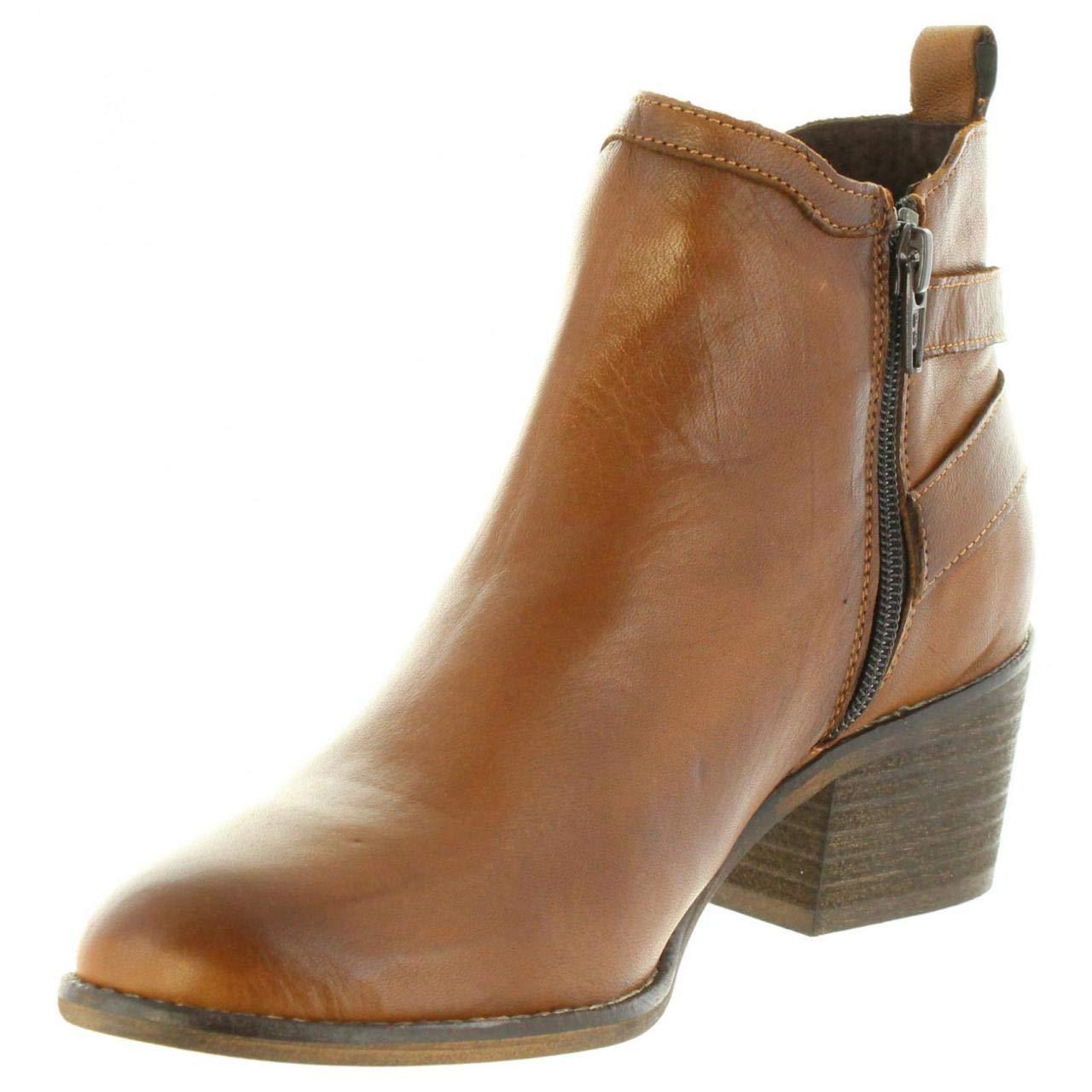 De Y Cuero 31097 Zapatos Marron Mujer Amazon es Cumbia Botines H6wnAxx