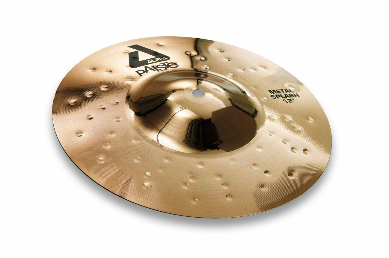 Paiste Alpha Brilliant Cymbal Metal Splash 10-inch by Paiste