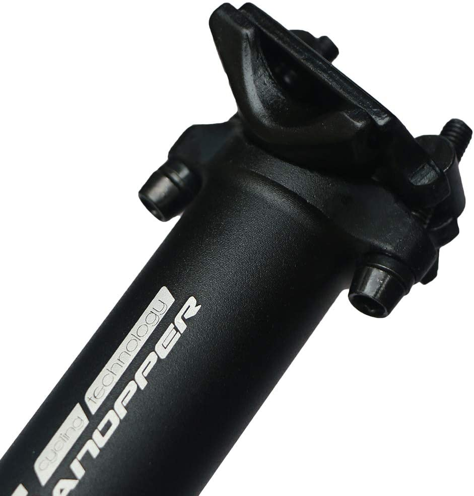 GANOPPER 350mm Doppio Bulloni Bloccato Design MTB BMX della Bici di Montagna della Bicicletta della Strada Sedile 27,2mm 28,6mm 30,9 mm 31,6 mm