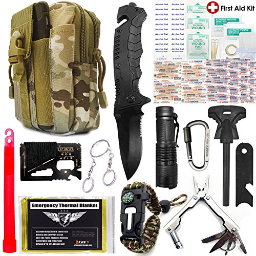EVERLIT Survival Kit 80-in-1