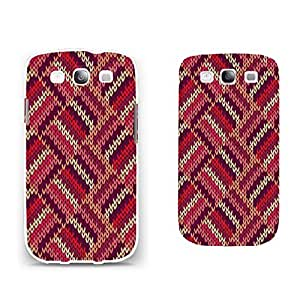 Slim Plastic Case Skin Vintage High Impact Phone Cover for Samsung Galaxy S3 I9300 (geometric BY810)