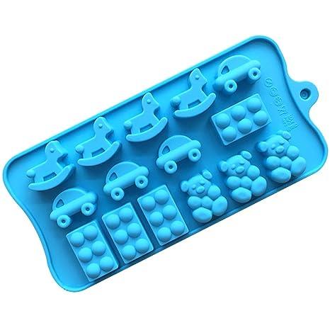 Muffin moldes 21,5 * 10,7 * 1,6 cm reutilizables moldes