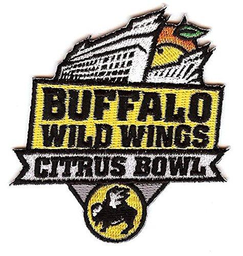 Buffalo Wild Wings Citrus Bowl Jersey Patch LSU Tigers Vs. Louisville Cardinals 2016 -