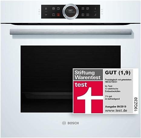 Bosch HBG675BW1 - Horno (Grande, Horno eléctrico, 71 L, 71 L, 30 ...