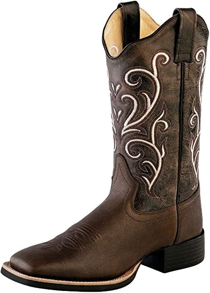 79fea66e3ed Amazon.com | Old West Boots Women's Kelly Brown 5 B US | Mid-Calf