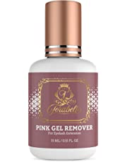 PINK GEL LASH REMOVER for Eyelash Extensions 15 ml Forabeli l Fast Adhesive Dissolution time 60 seconds   Professional Individual Eyelash Extension Glue Remover Supplies   Pleasant Smell