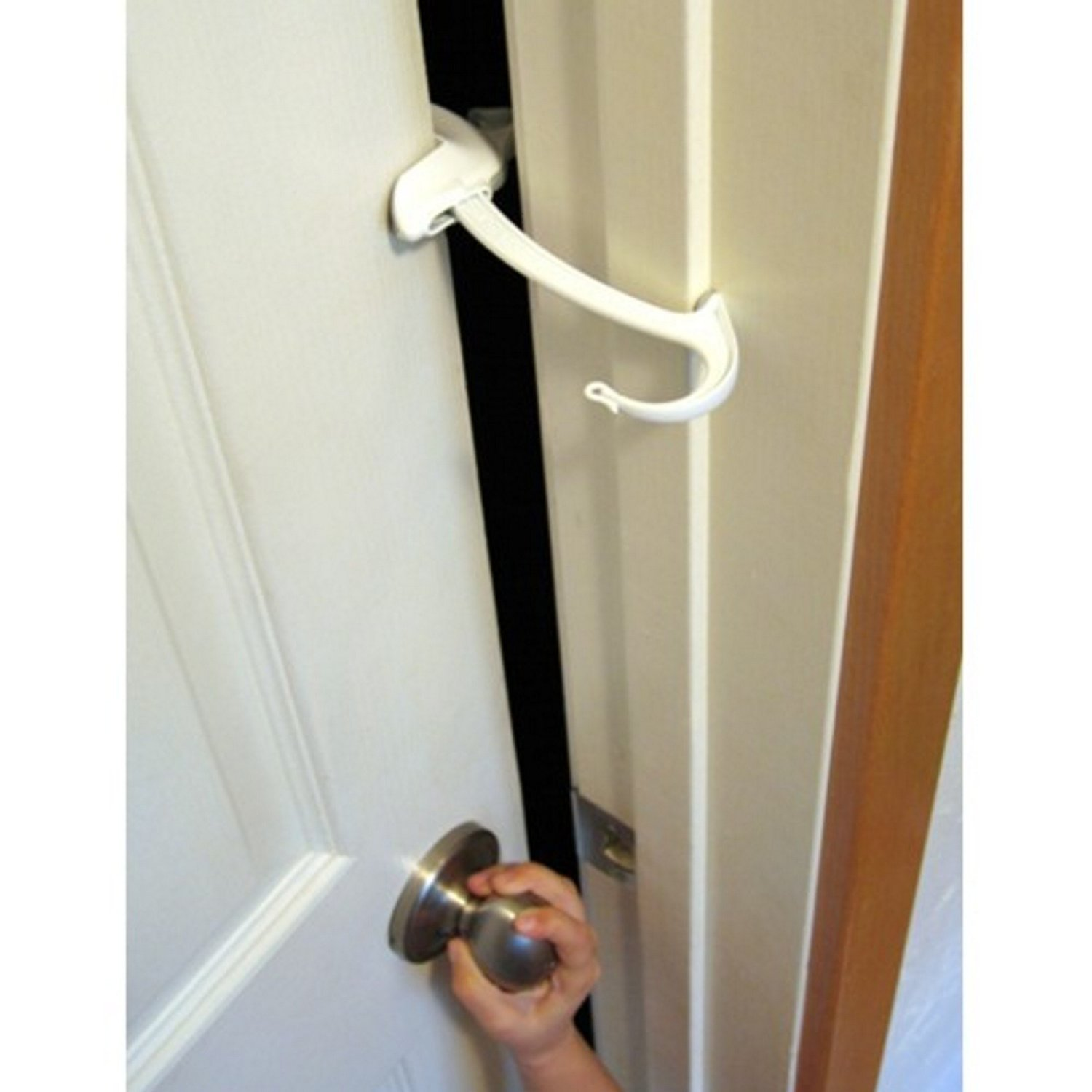 Door Monkey, Childproof Door Lock & Pinch Guard (3PK)