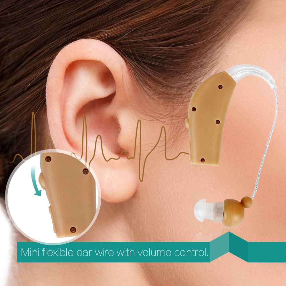 Madon Dongd Rechargeable Hearing Aids Personal Sound Living Amplifiers Accessories Voice Amplifier Behind The Ear Us Plug Health Care