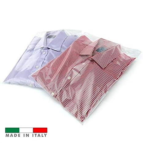 Palucart 100 Bolsas Transparentes para la Ropa Camiseta ...