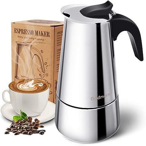 Godmorn Stovetop Espresso Maker, Moka Pot