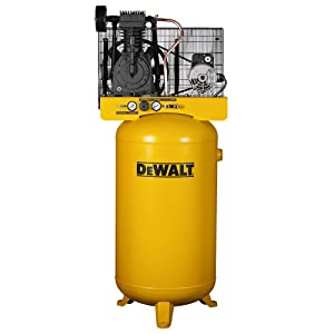 DeWalt Two-Stage Cast Iron Industrial Air Compressor