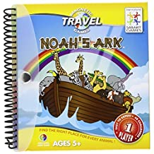 Smart Games Magnetic Travel Game, Noah's Ark