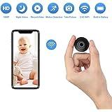 OUCAM Hidden Spy Camera Wi-Fi Surveillance Camera Mini Hidden Camera Built-in Battery Video Recorder Indoor/Outdoor…